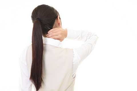 首の痛み・首こり